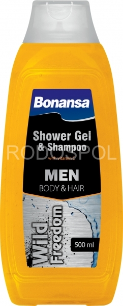 BONANSA sprch.gel & šampon men Wild Freedom 500 ml